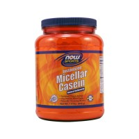 Now foods sports micellar casein natural unflavored - 0.8 Lbs