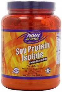 Now foods soy protein isolate natural chocolate - 2 lbs