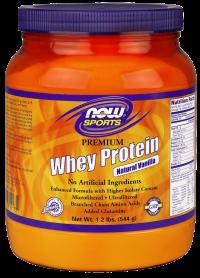 Now foods premium whey protein vanilla - 2 lbs