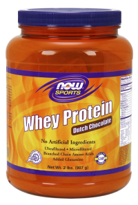Now foods whey protein dutch chocolate - 6 lbs