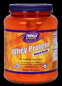 Now foods whey protein vanilla - 10 lbs
