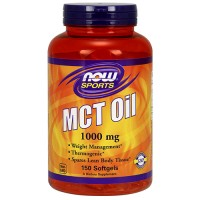 Now Foods MCT oil 1000 mg softgels - 150 ea