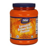 Now foods sprouted brown rice protein - 2 lbs