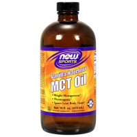 Now foods vanilla hazelnut MCT Oil - 2 oz