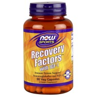 Now foods recovery factors with igf-1 veg capsules - 90 ea