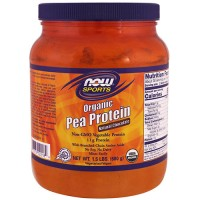 Now foods, sports, organic pea protein, natural chocolate - 22 oz