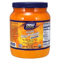 Now foods, sports, organic pea protein, natural vanilla - 24 oz