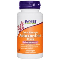 Now foods, astaxanthin, extra strength, 10 mg softgels - 60 ea