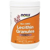 Now foods non-gmo lecithin granules - 1 lb