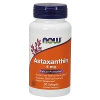 Now foods astaxanthin 4 mg softgel - 90 ea