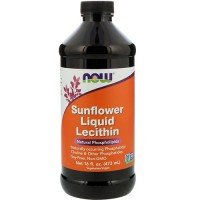 Now foods, sunflower liquid lecithin - 16 oz