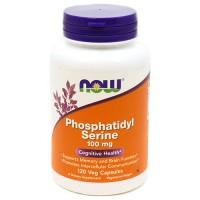 Now foods, phosphatidyl serine, 100 mg veg capsules - 120 ea