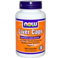 Now foods, liver capsules - 100 ea