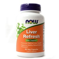 Now foods, liver refresh veg capsules - 90 ea