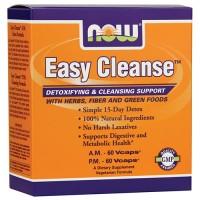 Now foods, easy cleanse, 2 bottles veg capsules each - 60 ea