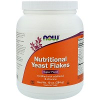 Now Foods nutritional yeast flakes - 10 oz