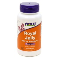 Now Foods royal jelly 1000 mg softgels - 60 ea