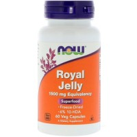 Now Foods royal jelly veg capsules - 60 ea