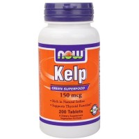 Now Foods kelp 150 mcg tablets - 200 ea