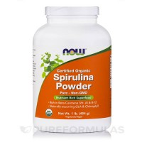 Now foods, certified organic spirulina powder - 16 oz