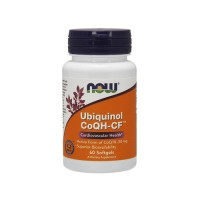 Now Foods Ubiquinol CoQH-CF cardiovascular health, softgels - 60 ea