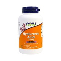 Now Foods Hyaluronic Acid with msm joint support, veg capsules - 120 ea