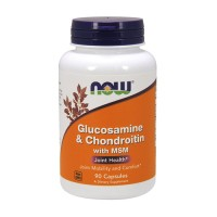 Now Foods Glucosamine and Chondroitin with msm joint health, capsules - 90 ea