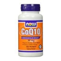 Now Foods CoQ10 30 mg cardiovascular health, veg capsules - 120 ea