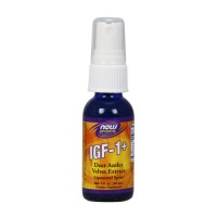 Now Foods IGF-1+ deer antler velvet extract liposomal spray - 1 oz