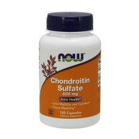 Now Foods Chondroitin Sulfate 600 mg joint health, capsules - 120 ea