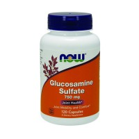 Now Foods Glucosamine Sulfate 750 mg joint health, capsules - 120 ea