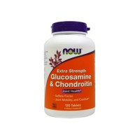 Now foods glucosamine and chondroitin Tablets - 120 ea