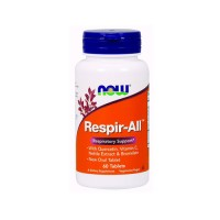 Now Foods respir all respiratory support, vegetarian tablets - 60 ea