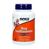 Now Foods soy isoflavones 150 mg endocrine support, veg capsules - 120 ea