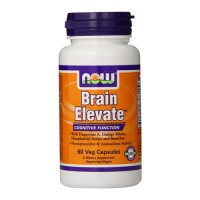 Now Foods brain elevate cognitive function, veg capsules - 60 ea