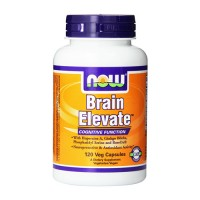 Now Foods brain elevate cognitive function, veg capsules - 120 ea