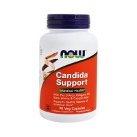 Now foods candida support vegetarian capsules - 90 ea