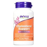 Now Foods Cholesterol support cardiovascular health, veg capsules - 90 ea