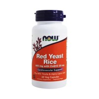 Now foods red rice yeast vegetarian capsules - 60 ea