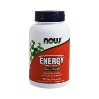 Now foods energy capsules - 90 ea