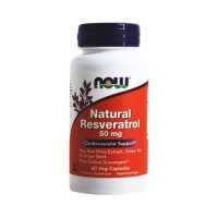 Now foods natural resveratrol vegetarian capsules - 60 ea
