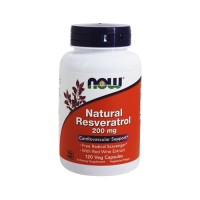 Now foods natural resveratrol vegetarian capsules - 120 ea