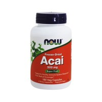 Now foods acai vegetarian capsules - 100 ea