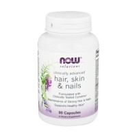 Now foods hair, skin and nails clinically advanced capsules - 90 ea