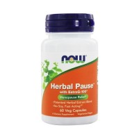 Now foods herbal pause vegetarian capsules - 60 ea