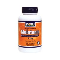 Now foods melatonin vcaps - 180 ea