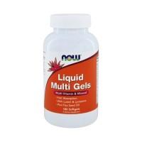 Now foods liquid multi gels softgels - 180 ea