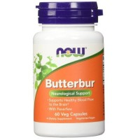 Now Foods butterbur veg capsules - 60 ea