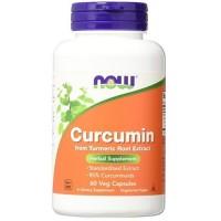 Now Foods curcumin veg capsules - 60 ea
