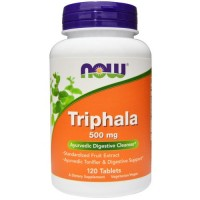 Now Foods triphala 500 mg tablets - 120 ea